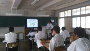 中島さんの授業風景